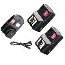 16 Channel Wireless Remote FM Radio Flash Speedlite Trigger w/ 2 Receivers