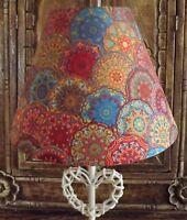 Rainbow dots Lampshade,lamp shade festival shabby chic,retro Free Gift