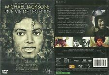 DVD - MICHAEL JACKSON : UNE VIE DE LEGENDE / NEUF EMBALLE - NEW & SEALED