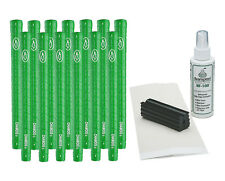 "13 Avon Chamois II Golf Grips - Green - .580"" round Free Grip Kit"