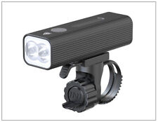 Professional Bike Light USB Rechargeable 5 Modes Black Aluminium LED waterproof