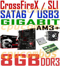 GAMING COMBO AMD FX-4100 CPU+8GB DDR3 RAM+MSI CrossFireX/SLI AM3+ Motherboard