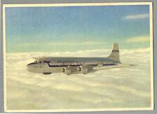 "1949 SAS Scandinavian Airlines Douglas DC-6 ""Alvar Viking "" Postcard"