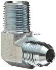 1//4 in Male JIC 37/° Flare x 1//4 in Male JIC 37/° Flare 80 Units Steel Brennan Straight Adapter