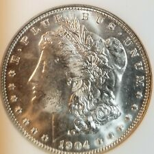 1904-O Morgan Silver Dollar NGC MS64-BU-Older Holder-Undergraded?