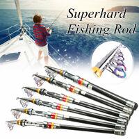 1.8-3.6M Telescopic Fishing Rod Spinning Fish Hand Tackle Sea Carbon Fiber Pole