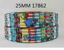 """Ribbon - Dr Seuss Cat in a hat - 1"""" wide - 1 m - hair bow"""