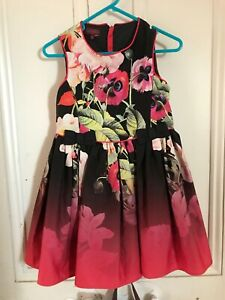 Ted Baker Girls Beautiful New Party Dress Size 6