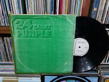 DEEP PURPLE - 24 Carat Purple KOREA LP. Green Cover.