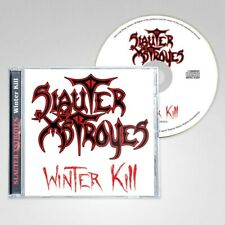 SLAUTER XSTROYES - Winter Kill (NEW*LIM.500*US METAL CLASSIC + 3  BONUS TR.)