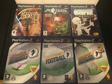 PS2 PAL Exclusive Video Game Lot US SELLER Playstation 2