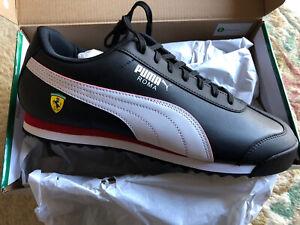 Puma SF Roma - Black -Trainers UK 10 EU 44.5 - Scuderia Ferrari  - Motorsport