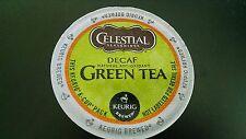 12 Celestial Green Tea DECAF K cups Blended With White Tea Keurig & Keurig 2.0