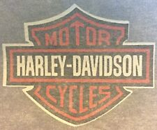 Original Harley Davidson Pocket Logo Iron On Transfer Motorcycle Biker Classic