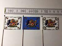 528) 3x 28mm Duchy Of Mecklenburg Napoleonic Flags 1st 2nd & Guard Grenadier Bat