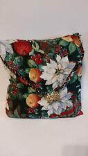 Flowers & Fruit design Linen Cushion Cover Throw Pillow Case