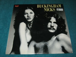 1973/1977 Lp Record Album BUCKINGHAM NICKS Stevie Polydor pre Fleetwood Mac