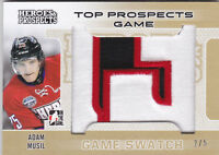 14-15 ITG Adam Musil /5 Patch Heroes & Top Prospects Game Swatch 2014