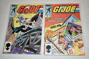 GI Joe A Real American Hero Marvel Comics Lot 1984   #26 & #27