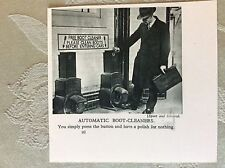 m17a7 book picture ephemera 1930s automatic boot shoe cleaners