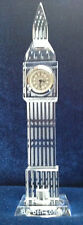 3D Crystal BigBen Model Clock - 22cm - Ideal Gift &  London Souvenir