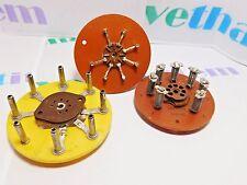 7 PIN TUBE SOCKET (2 PIECES) & 8 PIN TUBE SOCKET (1 PIECE) / 3 PIECES (qzty)