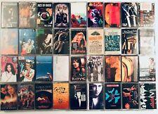 You Pick Cassette Tapes Lot: 90s, Alternative/Alt, Indie, Grunge, Punk, Rock