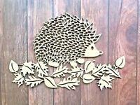 Hedgehog Picture Wooden Hedgehog Wall Art Hedgehog Sign Hedgehog Gift Wooden Art