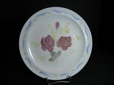 """Southern Potteries Blue Ridge:  """"Corsage""""  Luncheon Plate (10608) Hand Painted"""