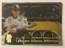 Rusty Wallace Rear View Mirror 2000 Press Pass VIP NASCAR Card RV2
