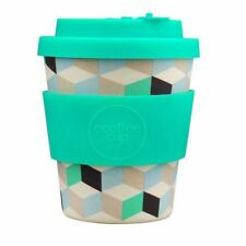 Ecoffee Cup Frescher with Turquoise Silicone Coffee Cup 250ml