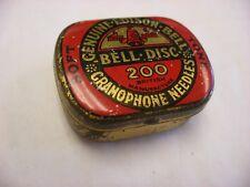Phonograph Victrola Gramophone - Needle Tin - 200 Edison Bell Gramophone Soft