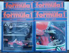 La Storia della Formula 1, Poltronieri - Regazzoni, 4 volumi, 1ed. ILSE
