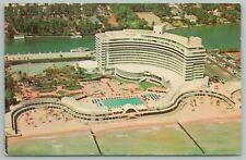 Miami Beach Florida~The New Fontainebleau~Standard Chrome Postcard