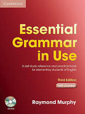 Essential Grammar in Use with Answers and CD-ROM Pack 3rd Edition by R Murphy