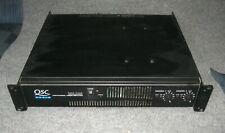 QSC RMX2450 Stereo PA Amplifier DJ/KJ - GC but dirty gain pots
