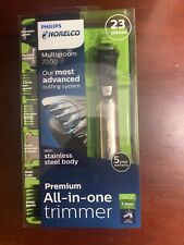 Philips Norelco Stainless Steel Multigroom 7000 Premium All-in-one Trimmer