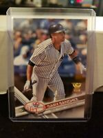 GARY SANCHEZ 2017 TOPPS SERIES 1 ALL STAR ROOKIE #7 MINT! NY YANKEES