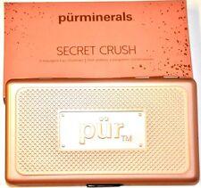 NIB Pur Minerals Secret Crush Eye Shadow Palette 8 Shades Shimmer & Satin DEAL