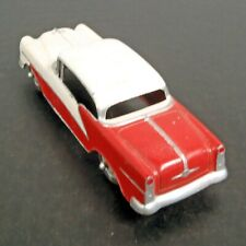 "1950s TOOTSIETOY HOLIDAY OLDS '98 Red & White 4.5"" Diecast Car"