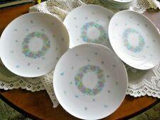 "Rosenthal Germany Garland Multicolor Romance Set of 4 Dinner Plates 9 3/4"""