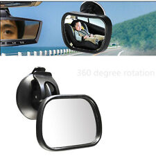 ADJUSTABLE CAR BABY FACING VIEW MIRROR CHILDREN BACKSEAT REARVIEW SUCTION MIRROR