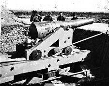 New 8x10 Civil War Photo: Big Gun at Fort McAllister Near Savannah, Georgia