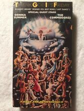 Thank God It's Friday (Prev. Viewed VHS) Donna Summer, The Commodores RARE!