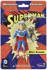 Superman Bendable Key Chain
