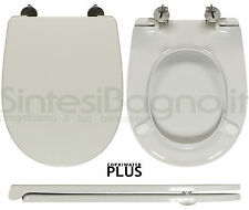 Toilet Seat SintesiBagno MADE for Esedra WC BULL series. SOFT CLOSE. ICIEU702