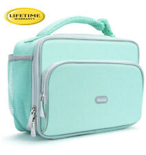 Amersun Lunch Box,Sturdy Insulated Lunch Box with Padded Liner Keep Food Hot Col