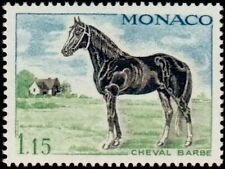 "MONACO N° 838 ""CHEVAUX DE SANS, ARABE 1 F 15"" NEUF xx TTB"