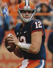Ryan Nassib #12 Syracuse Orangemen Football Qb Signed 8x10 Photo Coa!