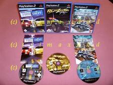 3x PS2 _ Ford vs. Chevy & RC Revenge Pro & Lego Drome Racers  _ Erstausgaben